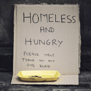 No Food For The Homeless