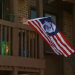 American Citizens Flying Obama Flag