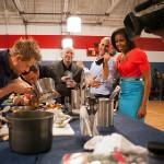 Michelle Obama, The White House Starlet