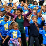 Michelle Obama Tells Kids To Campaign