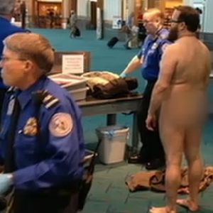 Portland Man Protests TSA In His Birthday Suit