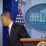 Obama's Temper Flares After Reporter Asks Question