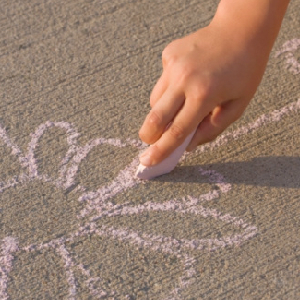 Neighborhood Bans Children From Drawing On Sidewalks