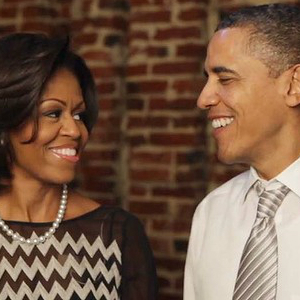 In Bid For Re-Election, Obamas Talk About Their First Date