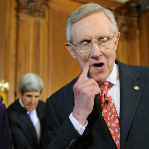 Does Harry Reid Hear What He's Saying?