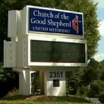 Church Sign Violates County Rule