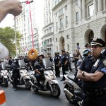 OWS Protesters Outnumbered By Cops