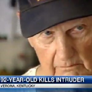 92-Year-Old Shoots Burglar, Police Seize Weapon Used
