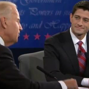 Condescending Biden, Collected Ryan And A Continuing Horse Race