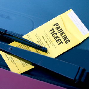 Man Claims He Got Parking Ticket For Having Romney Sticker