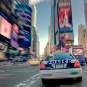 nypd car times square