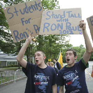 Ron Paul Doesn't Need Your Rocking Chair