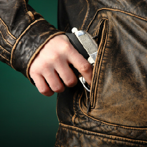 gun in pocket