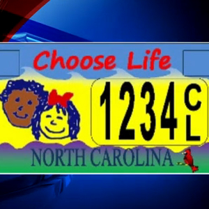 Court Finds North Carolina 'Choose Life' License Plates UnConstitutional