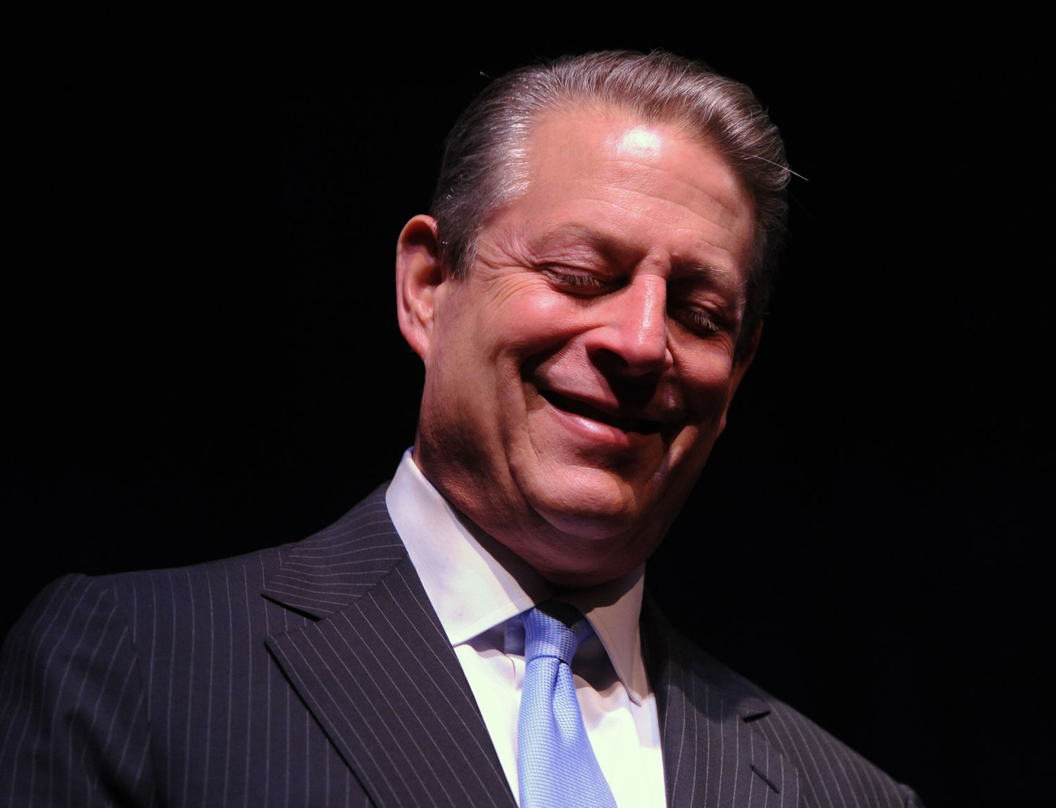 "Al Gore speaks about his latest book ""Our Choice"" in Washington"
