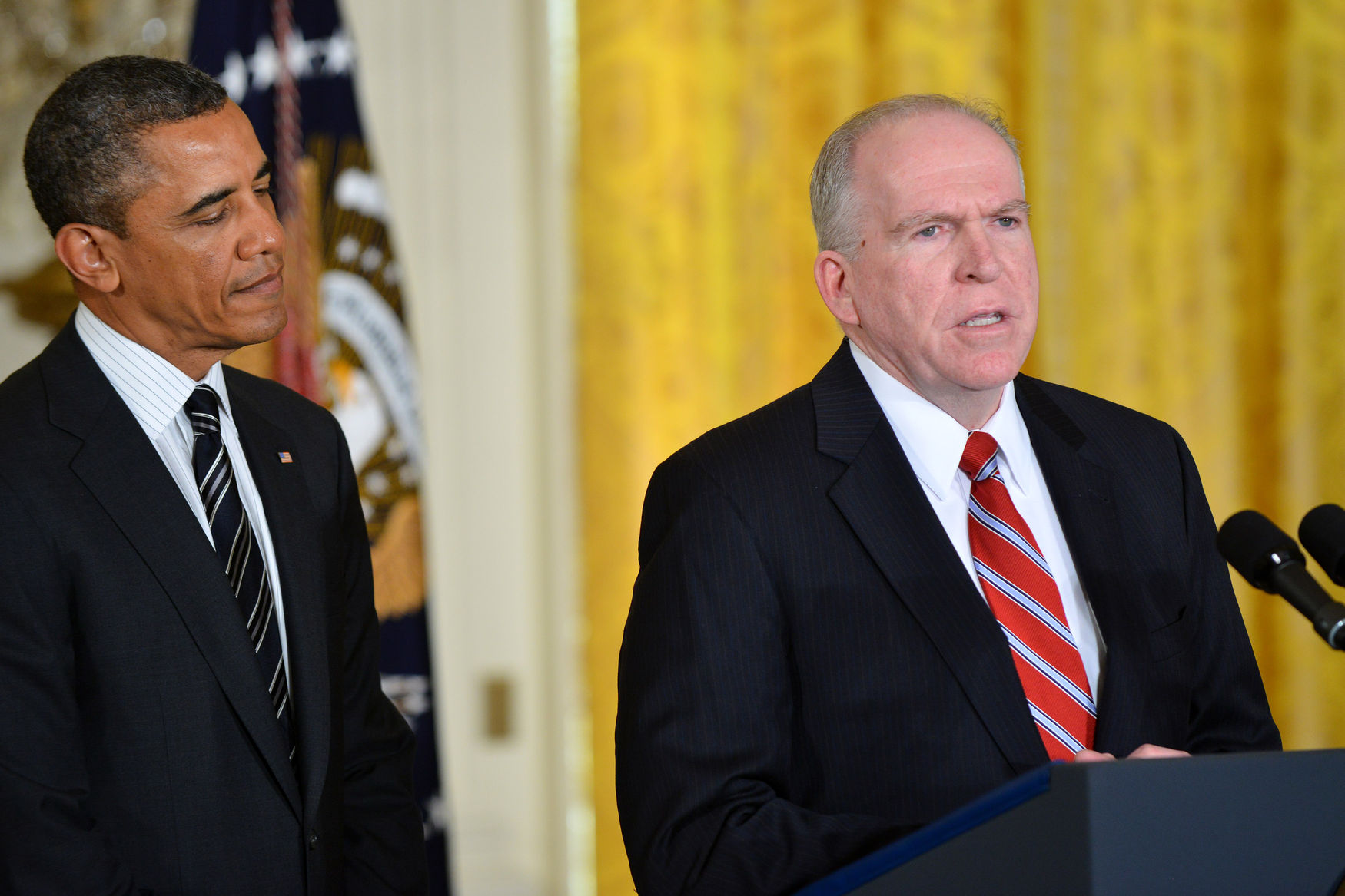 President Obama announces his nominees for Defense Secretary and CIA Director in Washington