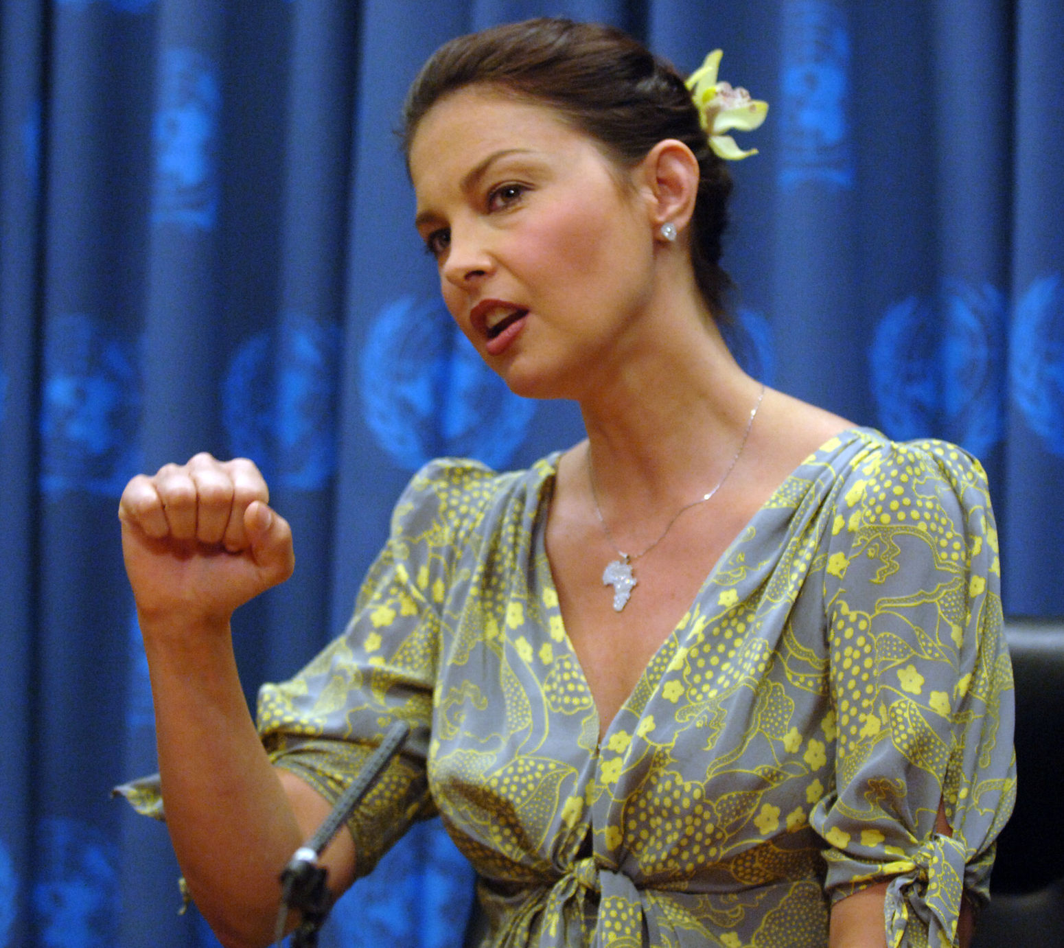 Ashley Judd addresses U.N. on Human Trafficking in New York