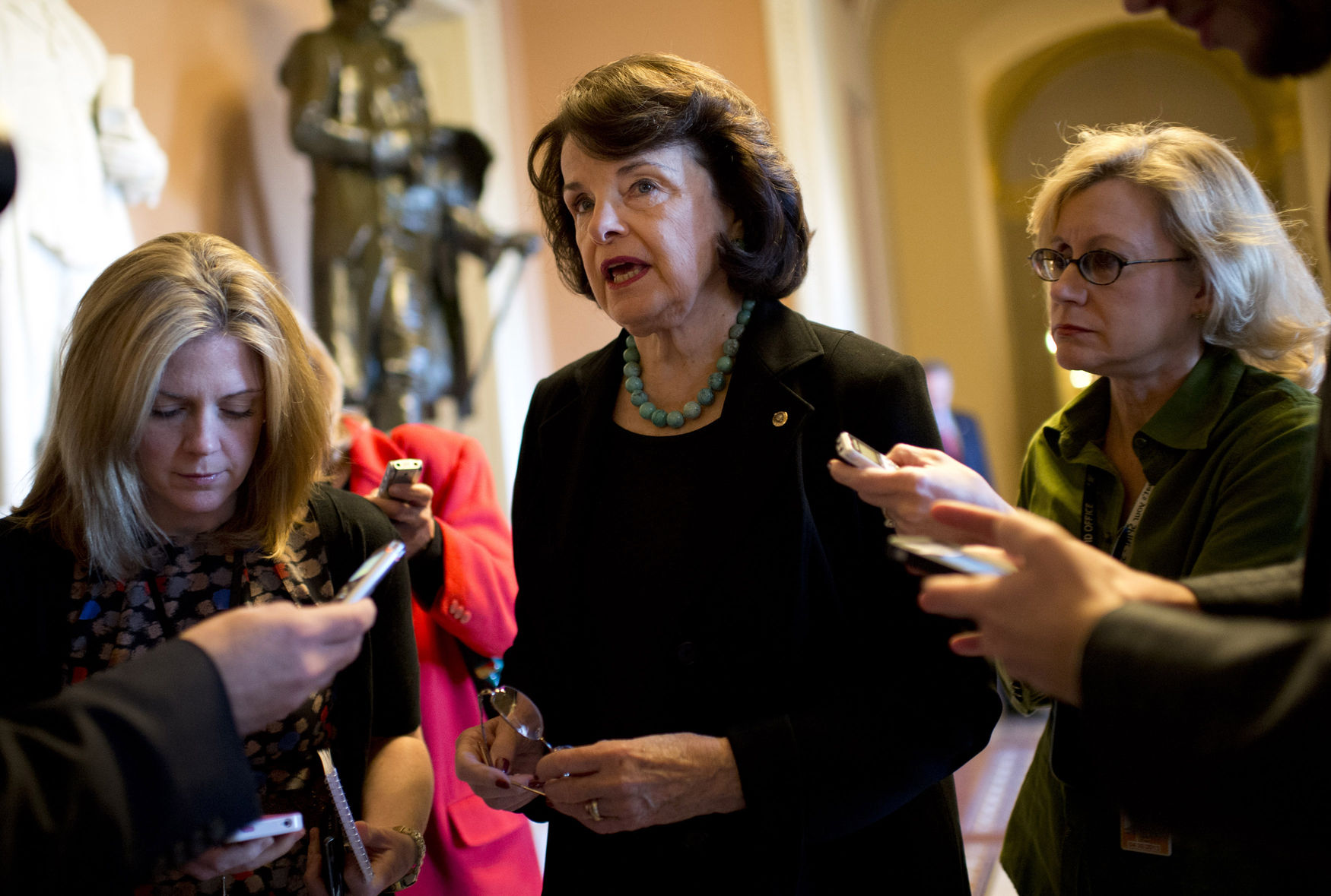 Sen. Dianne Feinstein in Washington