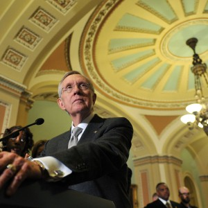 Reid: Supporters Of Nevada Rancher Are 'Domestic Terrorists'