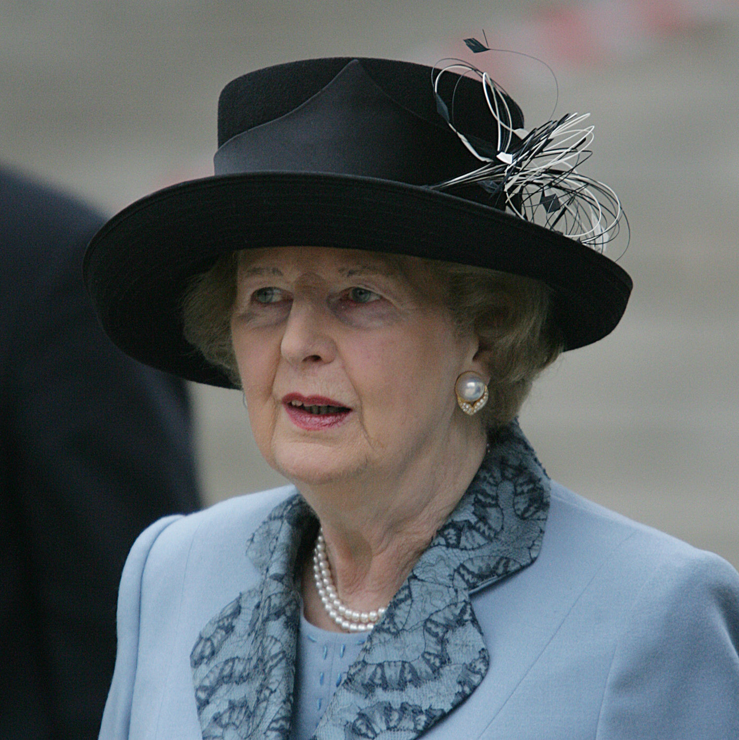 BARONESS THATCHER ATTENDS THE OPENING OF THE CHURCHILL MUSEUM