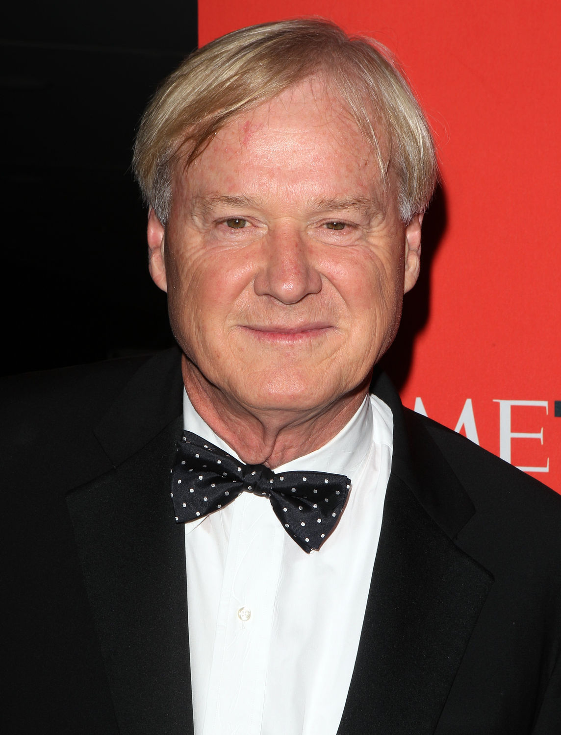 Chris Matthews arrives at Time Magazines 100 Most Influential People Gala at the Time Warner Center in New York