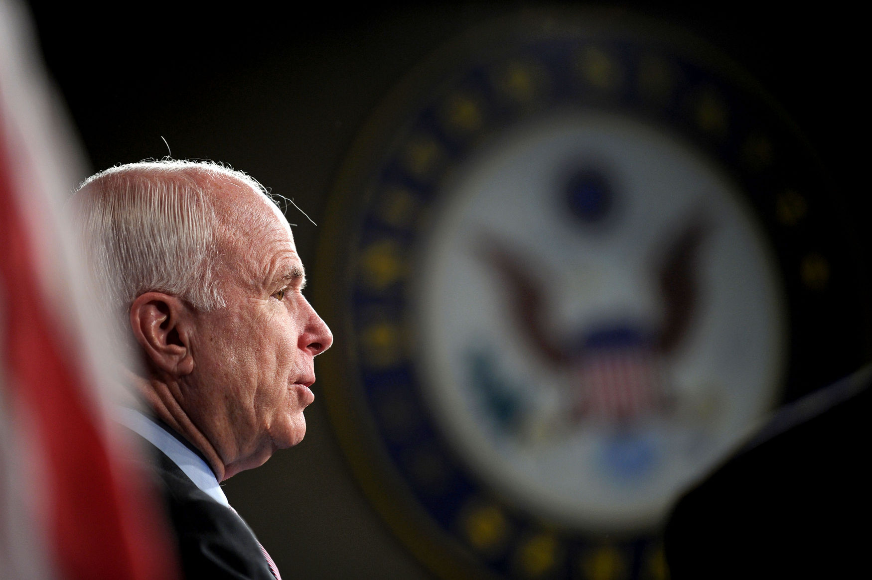 Senators McCain and Graham speak on the Hagel and Brenner nominations in Washington