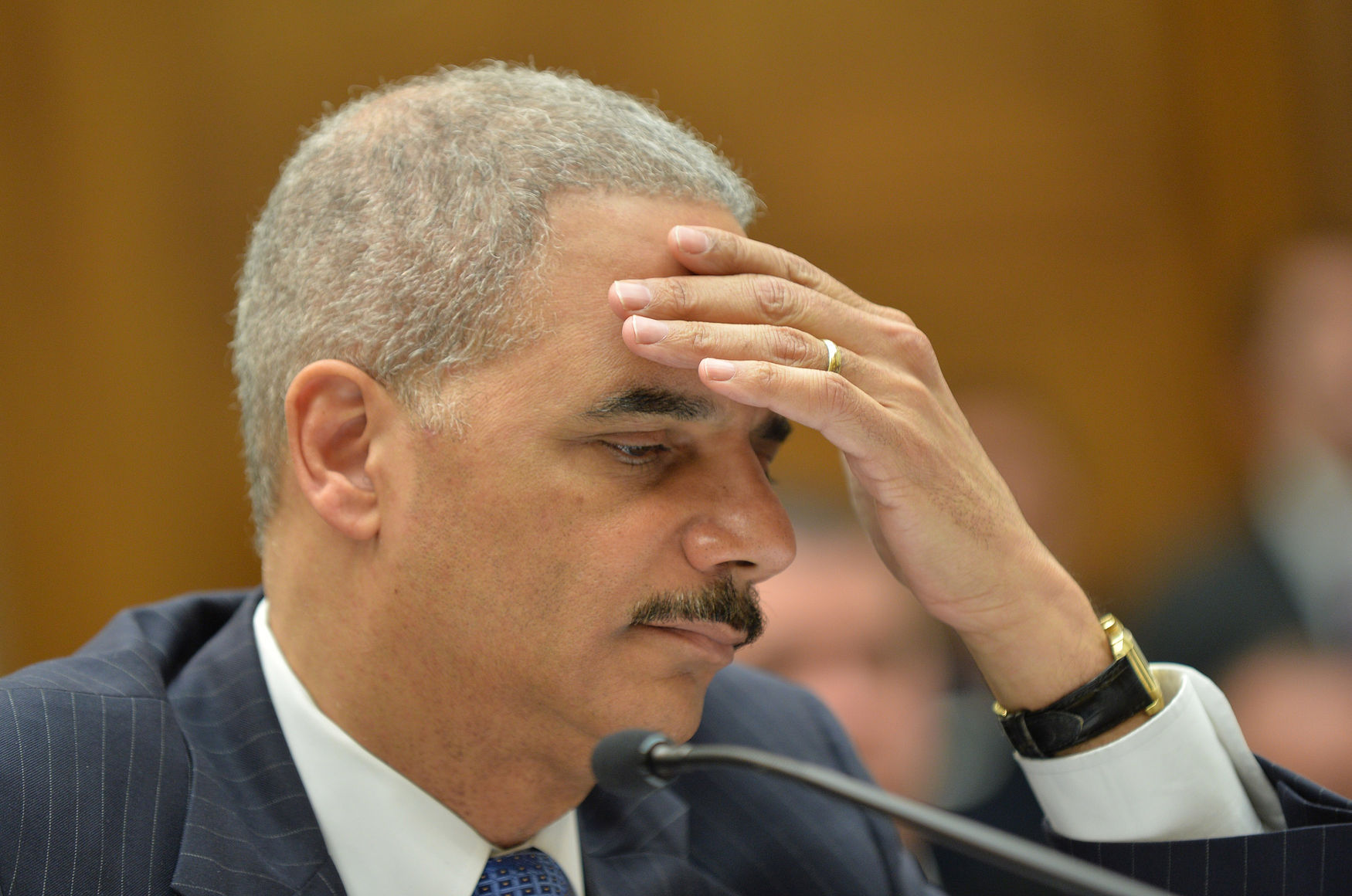 Attorney General Eric Holder testifies in Washington