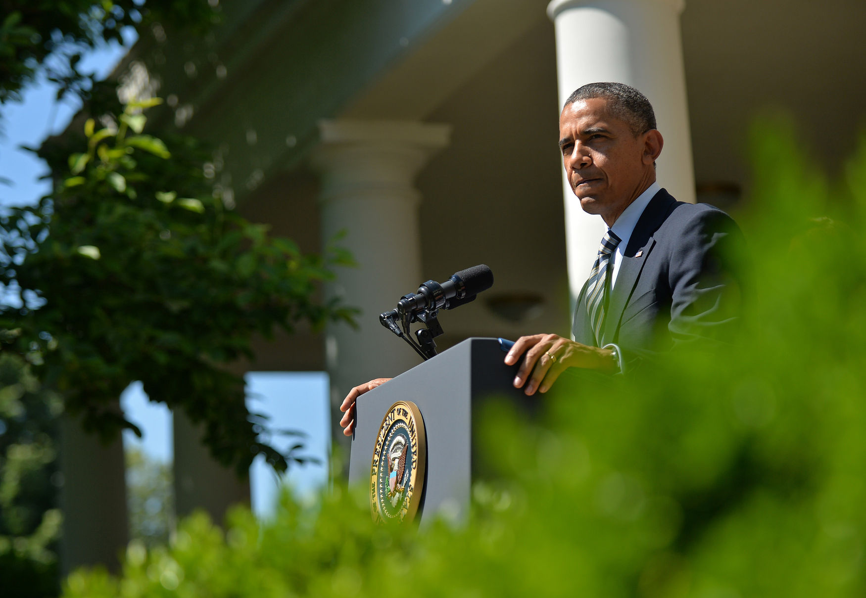 President Obama speaks on Student Loans in Washington