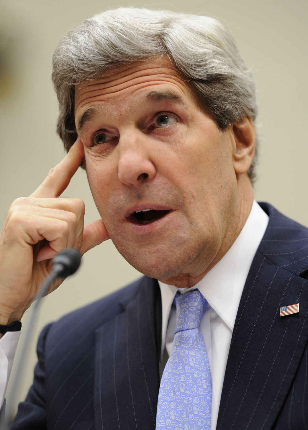Secretary of State Kerry testifies before the House Foreign Affairs Committee in Washington