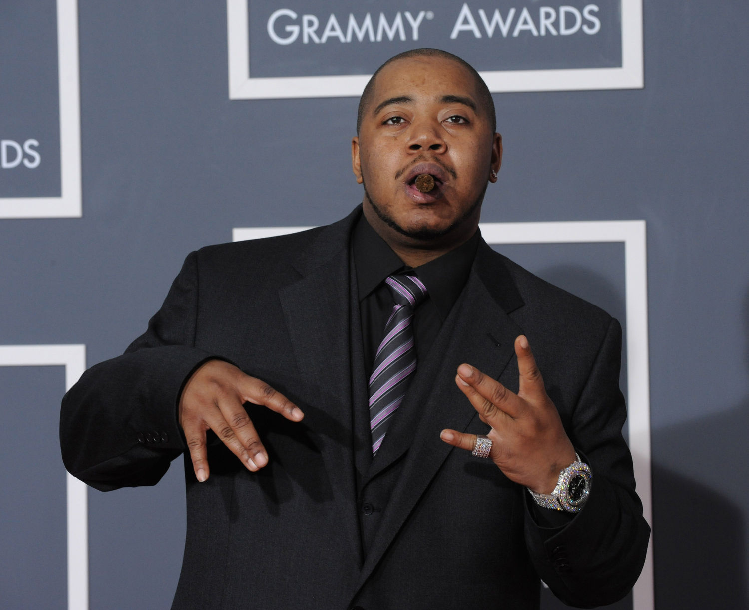 Twista arrives at the 52nd annual Grammy Awards