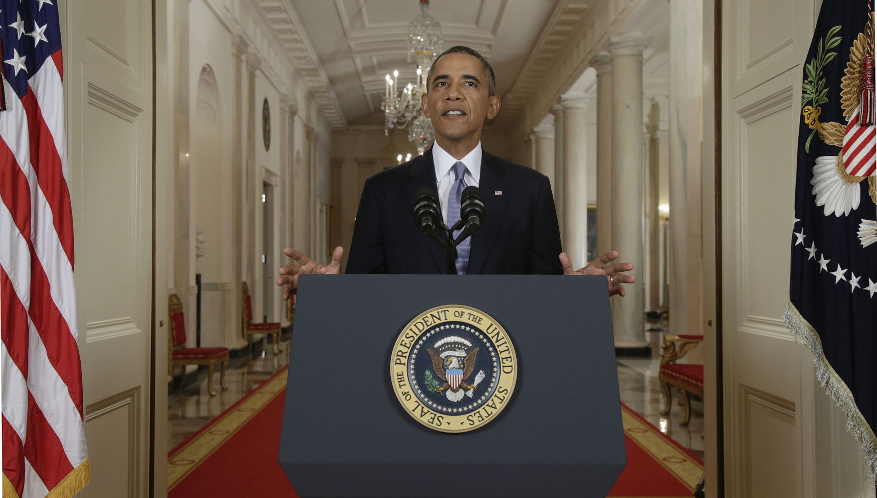 Barack Obama addresses nation