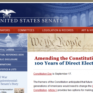 They're Kidding, Right? Official Senate Web Page Trashes 2nd Amendment In Novel Interpretation