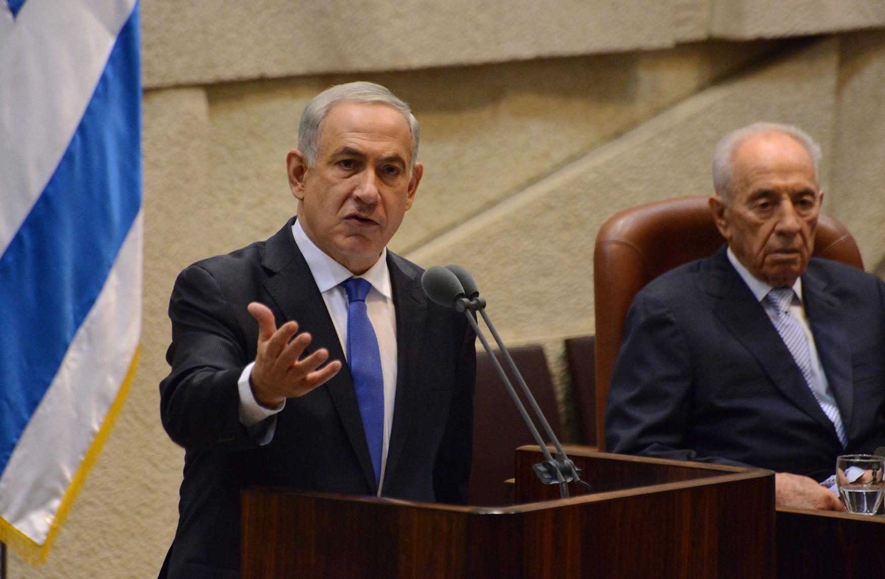 Israel Prime Minister Benjamin Netanyahu In Knesset