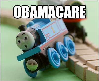 Obamacare-train