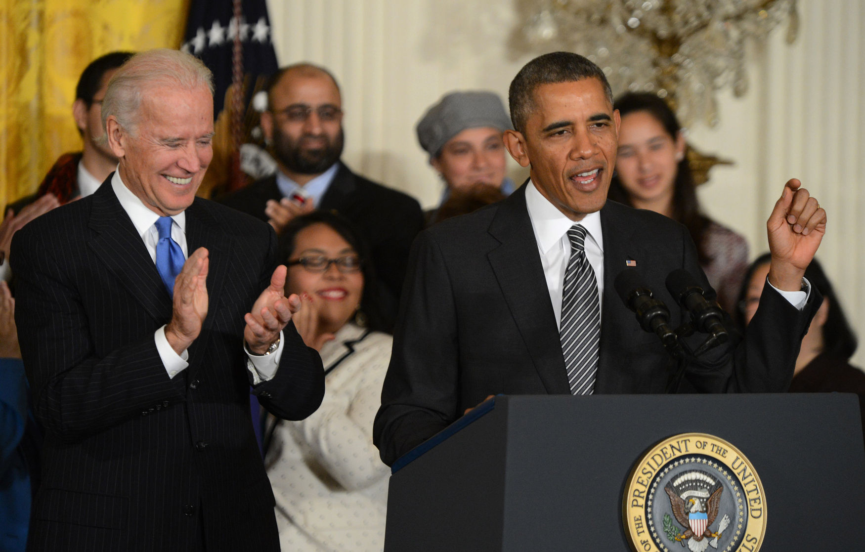 Obama Discusses Immigration Reform at the White House