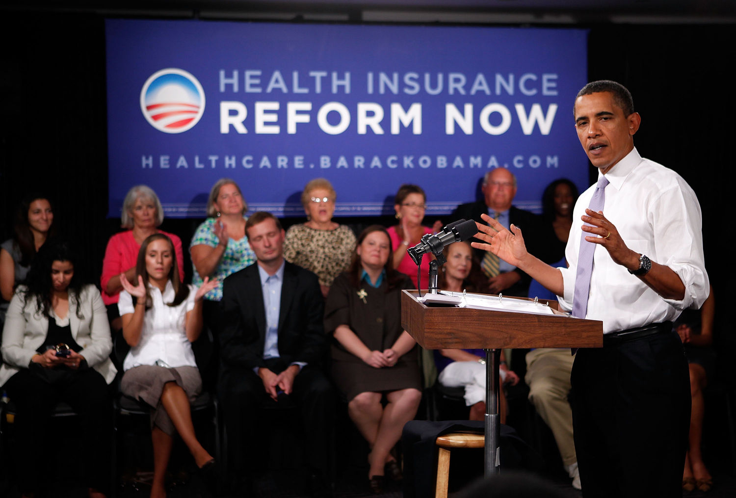 no wonder the white house won t say obamacare mentioning obama s obama attends forum for supporters of national health care reform