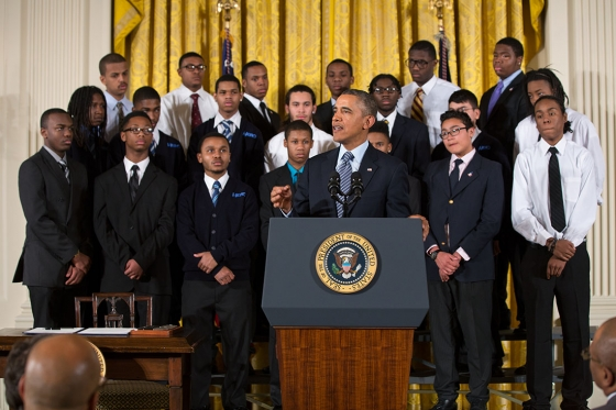 Obama launches My Brother's Keeper initiative