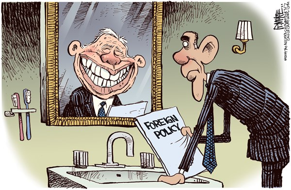 Image result for obama worst president cartoon
