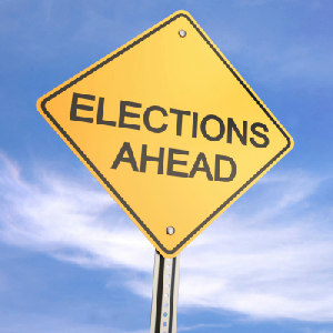 elections ahead warning sign