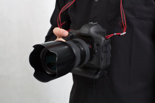 Holding new camera