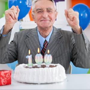 centenarian's birthday