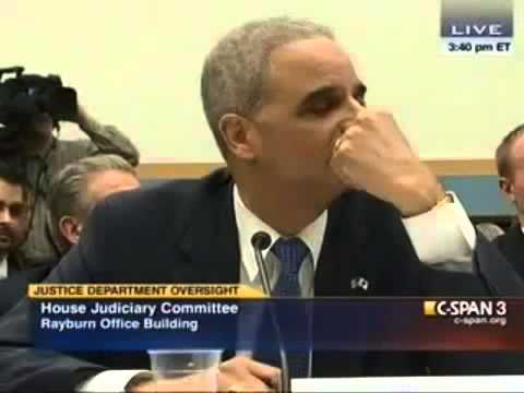 Video thumbnail for youtube video Eric Holder On Contempt: 'You Don't Want To Go There, Buddy'