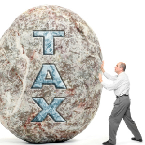 tax burden illustration