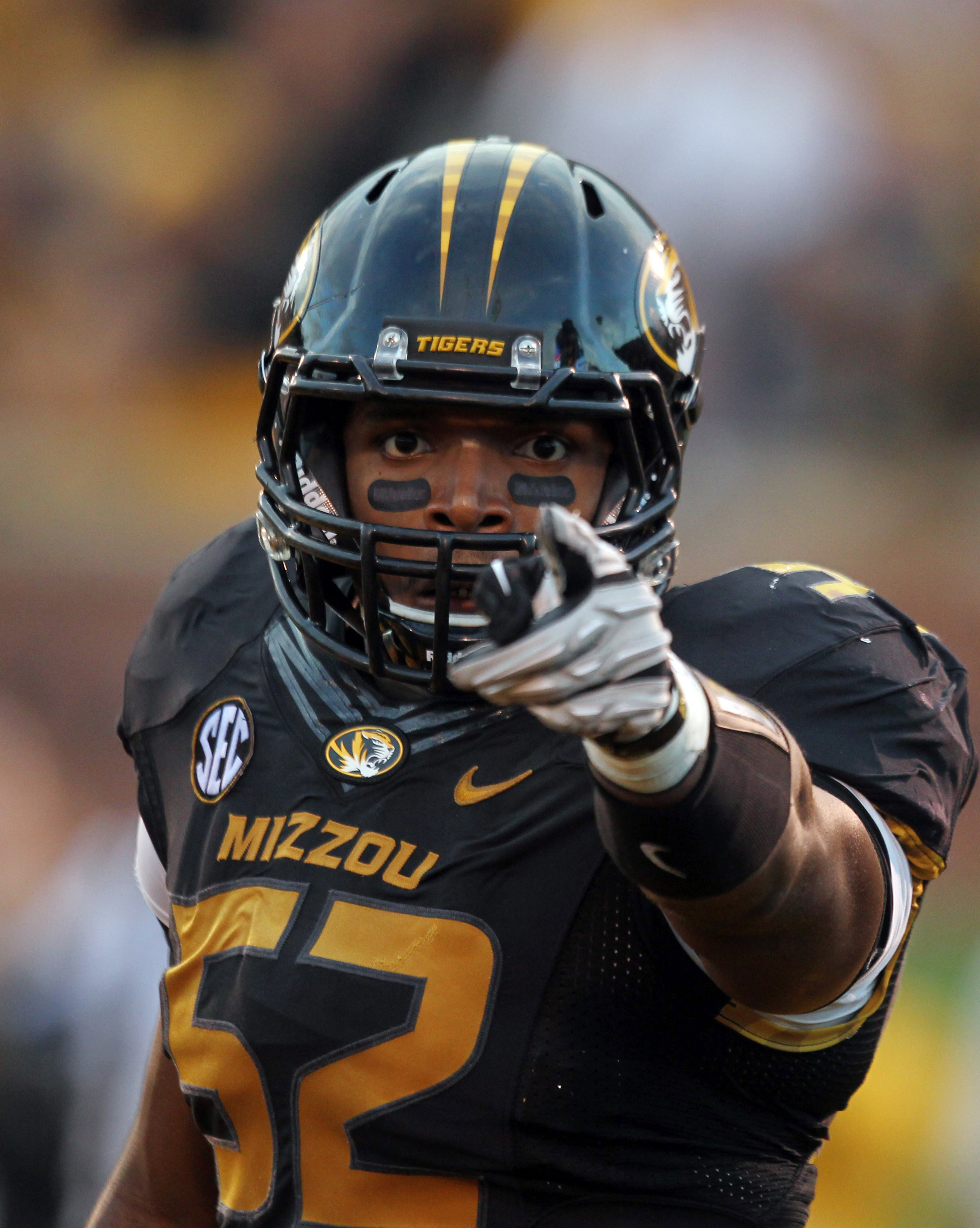 Former University of Missouri football player Michael Sam