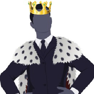 king businessman