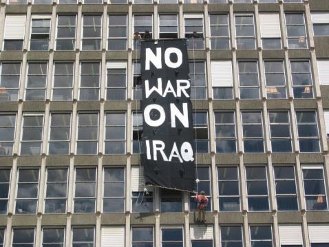 no war in iraq