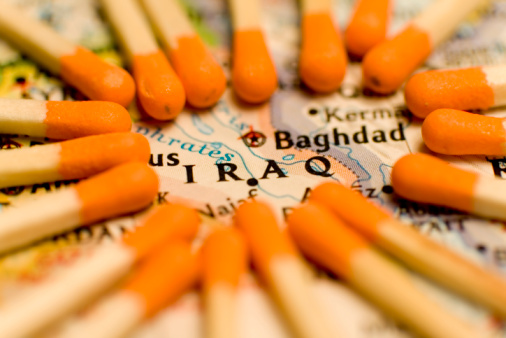 iraq matchsticks