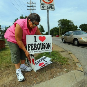 Ferguson Protests Subdued And Smaller As National Guard Pulls Out