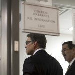 Rick Perry Defiant As He's Booked, Has Mug Shot Taken At Courthouse