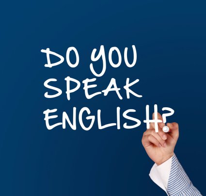 Writing do you speak english